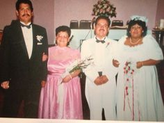 My brother Jimmy Serrato and Aunt Judy Elizalde and my brother Steven Serrato & his wife Diana Rodriguez it was there wedding