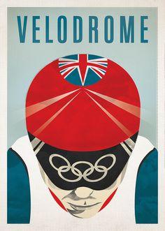 Velodrome, by Andrew Mallalieu  (via Gestalten Blackboard) #velo2