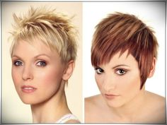 Women Haircuts for Short Hair For all face shape and age - verschiedene Frisuren Girls Shaved Hairstyles, Short Hairstyles For Women, Straight Hairstyles, Short Haircuts, Curly Hair Cuts, Curly Hair Styles, Beautiful Haircuts, Short Hair Cuts For Women, Different Hairstyles