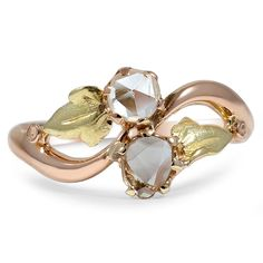 The+Tavia+Ring+from+Brilliant+Earth. Rose-cut diamonds, so very pretty!