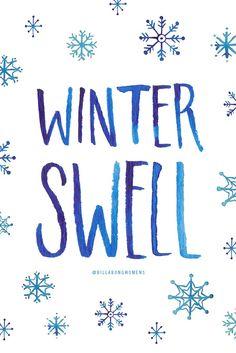 winter swell // #giveBILLABONG