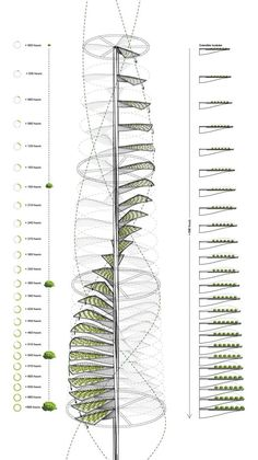 #infrastructure #architecture #generative #vegetable #vertical #magazine #farming #growing #system #urban #evolo #for #aUrban Vertical Farming: Generative System for a Vegetable Growing Infrastructure - eVolo | Architecture Magazine