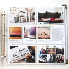 """Get some ideas for your very own project life layouts. The focus of this layout analyses is on a """"Clean Style"""". Enjoy this project life inspiration. Project Life Scrapbook, Project Life Album, Project Life Layouts, Diy Scrapbook, Pocket Page Scrapbooking, Scrapbooking Layouts, Valentine Day Week, Valentine Heart, Family Yearbook"""