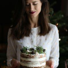 Raw arašidovo čokoládový koláčik (Reese`s) - The Story of a Cake White Chocolate Cake, Best Carrot Cake, Cake Blog, Xmas Food, High Tea, Recipe Box, Food For Thought, Ovens, Carrots