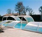 Domes/enclosures   Happy Hot Tubs   Swimming Pool Enclosures   Abrisud Pool Covers   Telescopic Enclosures