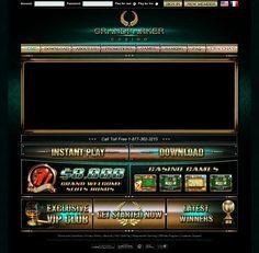 Get a HUGE $8,000 welcome bonus at Grand Parker Online Casino!