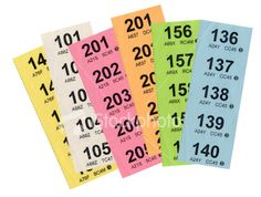 Raffle Tickets starters and questions