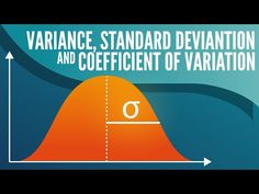 The coefficient of variation, variance, and standard deviation are the most widely used measures of variability. We'll discuss each of these in turn, finishing off with the coefficient of variation. Free Facebook Likes, Coin Market, Standard Deviation, Data Science, Medical Science, Social Media Influencer, Easy Food To Make, Big Data, Machine Learning