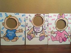 Bebé ducha juego Feed Me juego mixto ducha juego por CreativChick