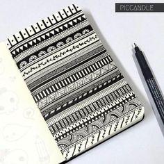 Image via We Heart It #drawing #pattern #zentangle