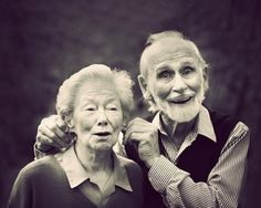 To be goofy and in love into old age... <3
