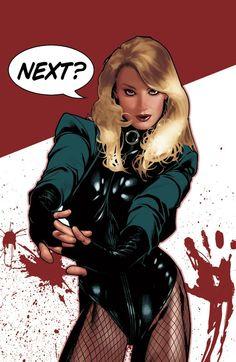 DC superheroine cover by Adam Hughes
