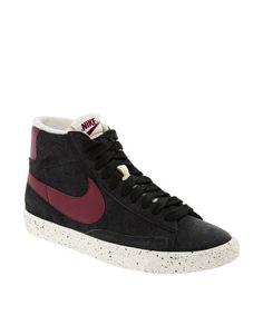 Imagen 1 de Zapatillas hi-top de ante Blazer de Nike