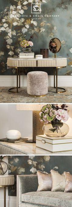 The Sofa & Chair Company | Luxury Interiors | Bespoke & Handmade Furniture | Designed in London