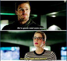 Arrow - Felicity & Oliver #4.4 #Olicity