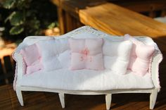 Dollhouse Miniature Shabby Chic Distressed by Memoriesnminiature, $44.99