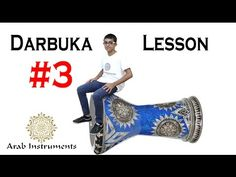 Doumbek Lesson #3 - It's time to practice!  Try to control this darbuka ...