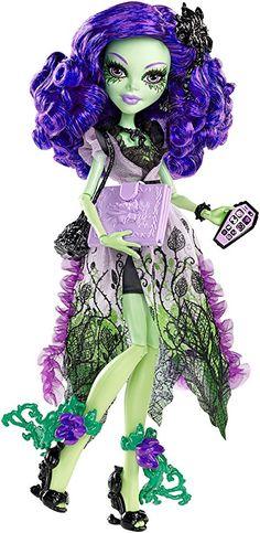 Hallowen All about Monster High: Amanita Nightshade. , All about Monster High: Amanita Nightshade. All about Monster High: Amanita Nightshade. Monster High Repaint, Monster High Dolls, Ever After High, Basic Fashion, Draculaura, Personajes Monster High, Love Monster, Mattel, Bratz Doll
