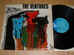 THE VENTURES - The Ventures - UK STEREO VINYL LP - LIBERTY LBX 2 (1968) The Ventures, Going To Work, Lp, Liberty, Ebay, Political Freedom, Freedom