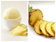 Înghețată de Ananas și Iaurt Sorbet, Mashed Potatoes, Ice Cream, Ethnic Recipes, Food, Sweet, Whipped Potatoes, No Churn Ice Cream, Smash Potatoes