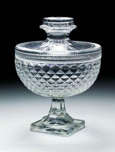 Baccarat coverd bowl