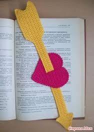 Afbeeldingsresultaat voor separador de libros crochet