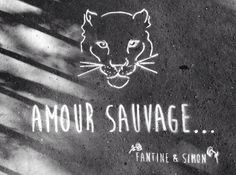 Amour Sauvage... In the streets of Paris • By Fantine & Simon • #paris #streetart #urbanart #graffiti #stencil #fantinetsimon #photography #love #amour #wild #iloveyou #flowers #paris #tigre #tiger www.fantineetsimo... ©Fantine&Simon