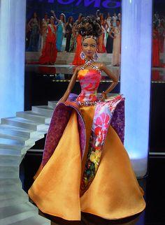 Miss Haiti 2013/14 by Ninimomo Dolls