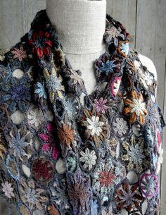"""""""la Regle du 4""""  wool scarf"""