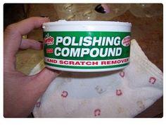 how to polish resin