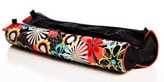 Slam Glam - Yogoco Jungle Fever Yoga Mat Bag, Great colors! Fully functional, very stylish, easy to use!
