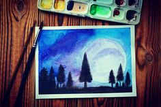 Forest @my_watercolor_z