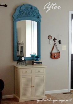 Makeover for an Awkward Entryway