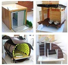 """Design With Reach's Boulder Studio recently presented a """"Barkitecture"""" challenge to a group of architects in the area. The challenge was to create a doghouse with dimensions not exceeding 3 cubic feet, that was under $1000 and used at least some """"green"""""""
