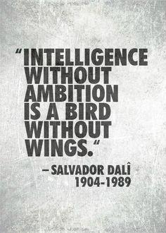 Intelligence without Ambition...