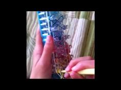 ▶ Crazy 8 rainbow loom bracelet tutorial - YouTube