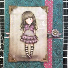 ger76 | docrafts.com Gorjuss Girls Made for Docrafts by Geraldine Carruthers https://www.docrafts.com/Members/ger76/Projects