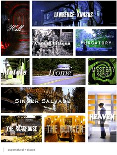 Supernatural + places [gifset]