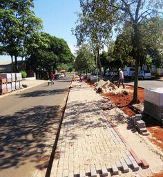 Nova Olímpia inicia conjunto de obras de reurbanização