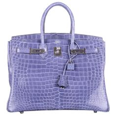 86fc9e56a0a7 MAGICAL  amp  ONLY ON JF HERMES BIRKIN BAG 35cm BLUE BRIGHTON PORO PHW