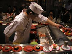 When in Tokyo, I'll always visit this sushi restaurant near Shibuya station... It's the best!