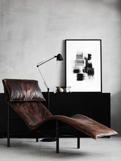 'Minimal Interior Design Inspiration' is a biweekly showcase of some of the most perfectly minimal interior design examples that we've found around the web - Small Living Room Layout, Small Living Rooms, Living Room Designs, Cozy Living, Modern Living, Interior Design Examples, Interior Design Inspiration, Modern Interior, Living Room Furniture
