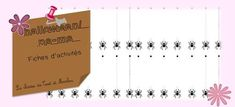 Les animaux qui font peur ! - La classe de Teet et Marlou Container, Index Cards, Preschool, Animaux