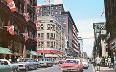 Looking North Toronto, ON Canada Ontario Street Look, Street View, Toronto Street, Canadian Culture, Yonge Street, Toronto Photos, Toronto Canada, Historical Photos, Ontario