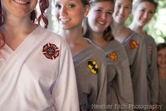 DIY Superhero Robes for the bride and bridesmaids - Crafty Staci #wedding