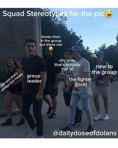 lol this isn't what I actually think of them, this is just what this pic looks like to me but seriously all of my favs af in one pic// Ethan+Grayson+Cam+Joe+Alex+Kyle