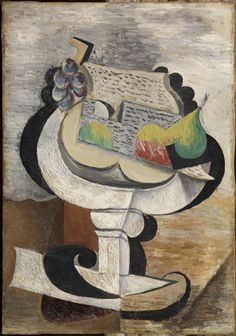 'Compoteir/Frutero (Fruit Dish)' by Pablo Picasso, 1917