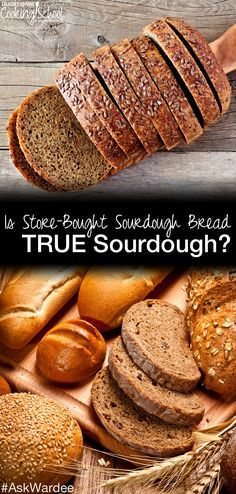 "Lori L. asks, ""Is the sourdough bread bought in the store made with a live culture or a flavoring?"" In other words, is store-bought sourdough TRUE sourdough? Watch, listen, or read to learn the truth! 