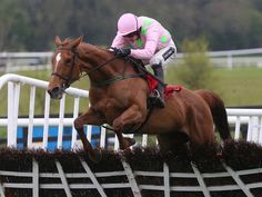 Annie Power wins well at Punchestown.