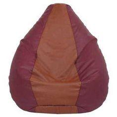 Product Name: ViZwaSS Luxury Double Colour Bean Bag Maroon Brown With Bean Description: Description- India' Bean Bag Chair, Luxury, Brown, Bags, Color, Home Decor, Products, Handbags, Decoration Home